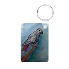 Parrot, African Grey, Keychains