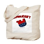 Republican't -  Tote Bag