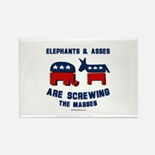 Elephants & Asses are screwing the masses - Recta