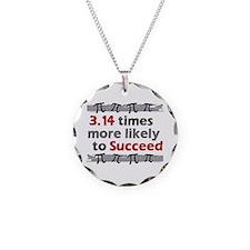 Pi Success Funny Math Necklace