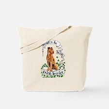Proud Irish Terrier Tote Bag
