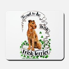 Proud Irish Terrier Mousepad