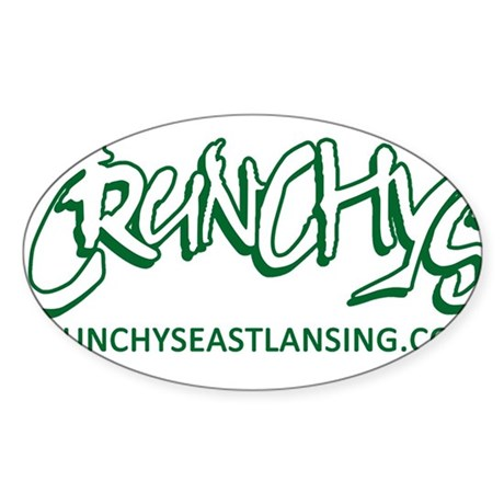 Crunchy's Coolness Sticker (Oval)