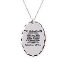 Veterinarian A Real Doctor Necklace
