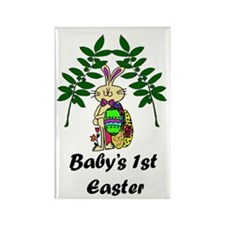 Baby's First Easter Rectangle Magnet