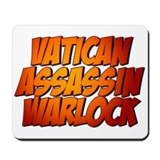 Vatican Assassin Warlock Mousepad