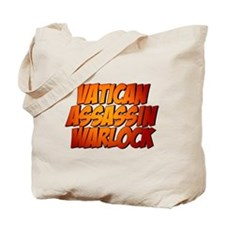 Vatican Assassin Warlock Tote Bag