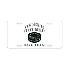 New Mexico State Police Diver Aluminum License Pla