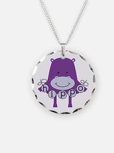 Cartoon Hippo Necklace