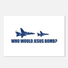 Who would Jesus bomb? -  Postcards (Package of 8)