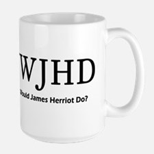 What Would James Herriot Do? Large Mug
