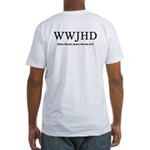 What Would James Herriot Do? Fitted T-Shirt