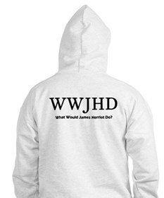 What Would James Herriot Do? Hoodie