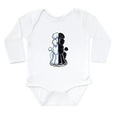 Double Standard Long Sleeve Infant Bodysuit