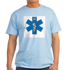 EMS Shriner - Blue Star of Life T-Shirt