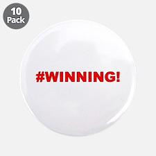 """#WINNING 3.5"""" Button (10 pack)"""