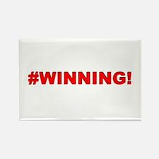 #WINNING Rectangle Magnet (10 pack)