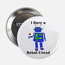 """Robot Friend 2.25"""" Button"""