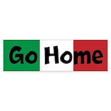 Go Home Custom Bumper Sticker