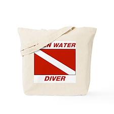 Cute Advanced diver Tote Bag