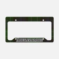 Abercrombie Tartan License Plate Holder