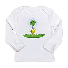 Woodstock Shamrock Long Sleeve Infant T-Shirt