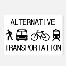 Funny Transportation Postcards (Package of 8)