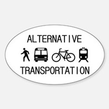 Cute Light cycle Sticker (Oval)