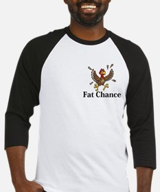 Fat Chance Logo 14 Baseball Jersey Design Front Po