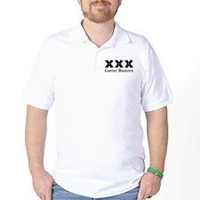 Gutter Busters Logo 12 T-Shirt Design Front Poc