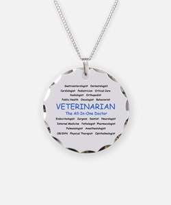 Veterinarian The All-In-One D Necklace