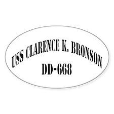 USS CLARENCE K. BRONSON Decal