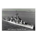 USS CLARENCE K. BRONSON Postcards (Package of 8)