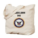 USS CLARENCE K. BRONSON Tote Bag