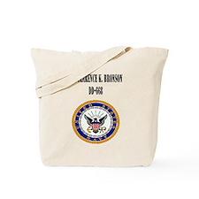 USS CLARENCE K. BRONSON Tote Bag