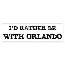With Orlando Bumper Bumper Sticker