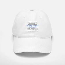 Veterinarian The All-In-One D Baseball Baseball Cap