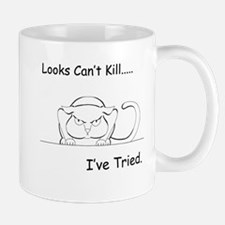 Looks Can't Kill (cat) Mug