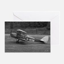 Tiger Moth Greeting Card