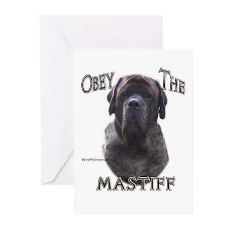 Mastiff 56 Greeting Cards (Pk of 10)