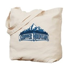 Copper Mountain Blue Mountain Tote Bag