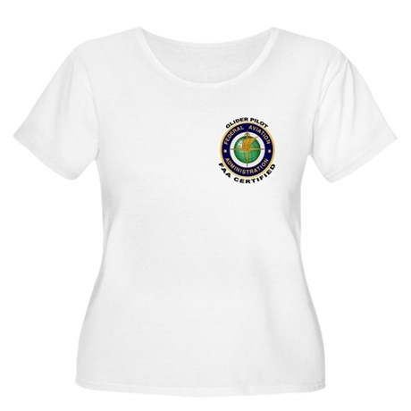 Glider Pilot Women's Plus Size Scoop Neck T-Shirt