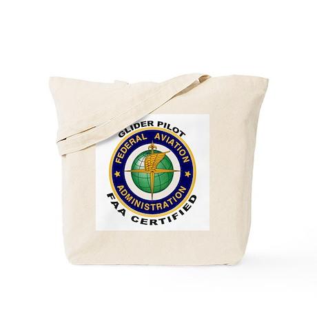 Glider Pilot Tote Bag