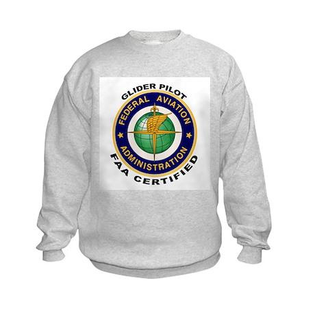Glider Pilot Kids Sweatshirt