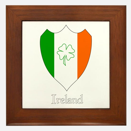 Irish Crest Framed Tile