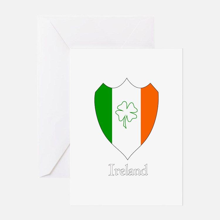 Irish Crest Greeting Card