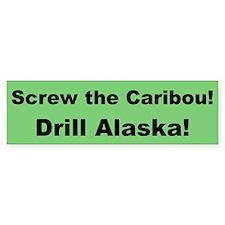 Drill Alaska Bumper Bumper Sticker