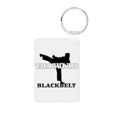 TaeKwonDo Black Belt Keychains