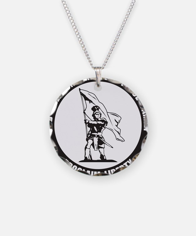 Cute Defenders of freedom Necklace