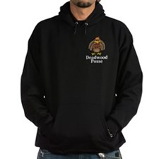 Deadwood Posse Logo 13 Hoodie Design Front